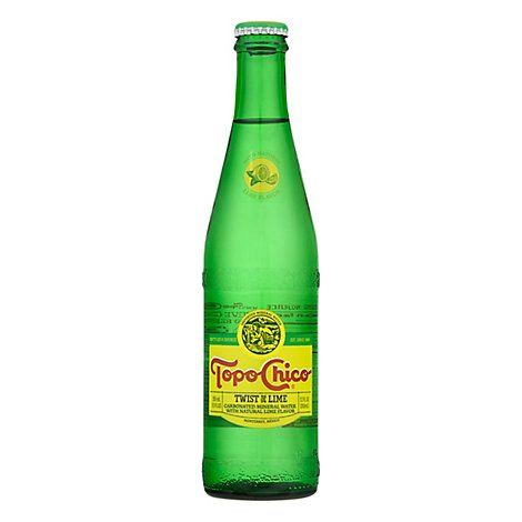 Topo Chico Mineral Water Sparkling Twist Of Lime - 12 Fl. Oz.