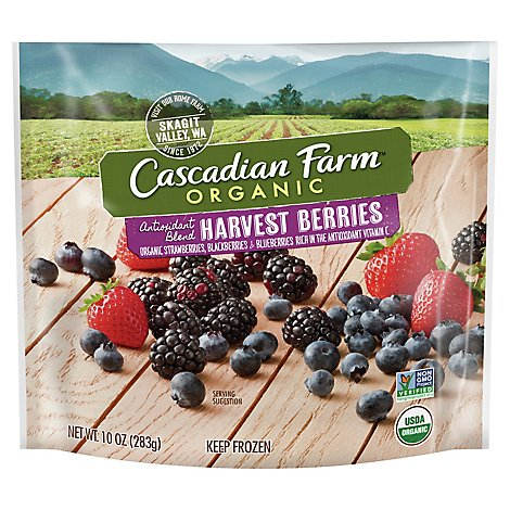 Cascadian Farms Fruit Harvest Berry - 10 Oz