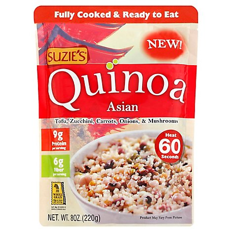 Suzies Quinoa Asian Pouch - 8 Oz