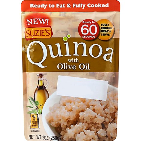Suzies Quinoa with Olive Oil Pouch - 9 Oz