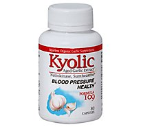 Kyolic Kyolic Frmla 109 Blood Pressure Health - 80 Count