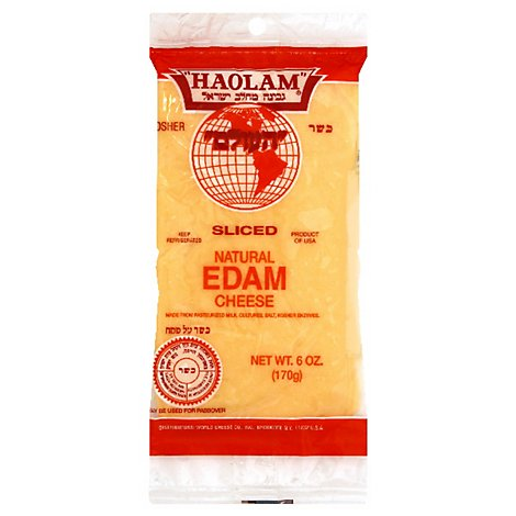 Haolam Sliced Edam Cheese - 6 Oz