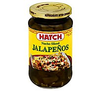 HATCH Select Jalapenos Gluten Free Nacho Sliced Jar - 12 Oz