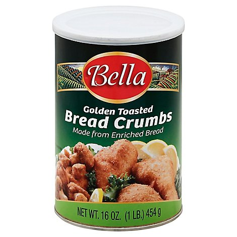 Bella Bread Crumbs Golden Toasted Made from Enriched Bread - 16 Oz