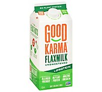 Good Karma Flaxmilk Protein Plus Unsweetened Original - 64 Oz