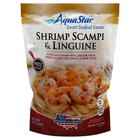 Aqua Star Shrimp Scamp Lnguine - 16 Oz
