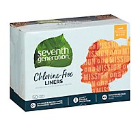Seventh Generation Pantiliner Slim Fit - 50 Count