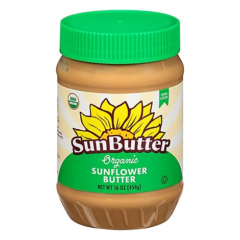 SunButter Sunflower Butter Organic - 16 Oz
