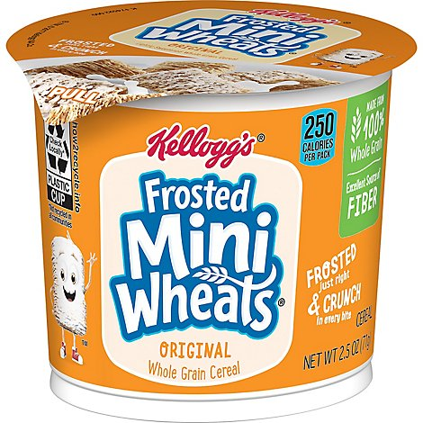 Frosted Mini-Wheats Breakfast Cereal Original - 2.5 Oz