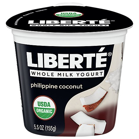 Liberte Organic Yogurt Coconut - 5.5 Oz
