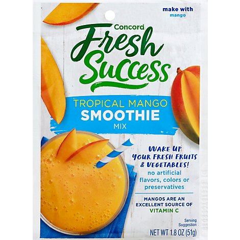 Concord Foods Mango Smoothie Mixes - 1.8 Oz