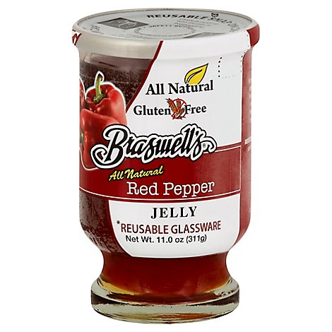 Braswells Jelly Red Pepper - 11 Oz