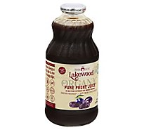Lakewood Organic 100% Juice Pure Prune - 32 Fl. Oz.