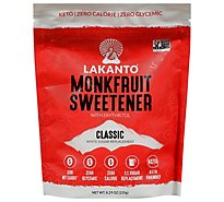 Lakanto Sweetener Monkfruit Classic - 8.29 Oz