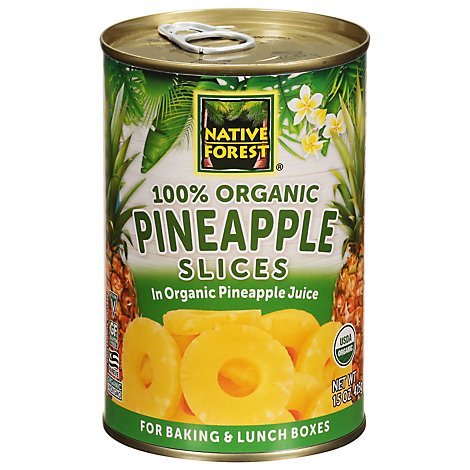 Native Forest Organic Pineapple Slices - 15 Oz