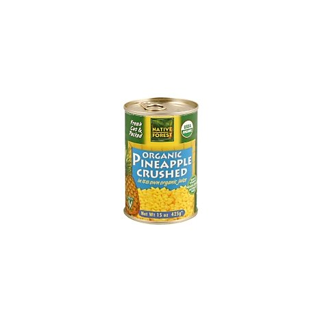 Native Forest Organic Pineapple Crushed - 14 Oz