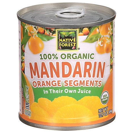 Native Forest Organic Mandarins Orange - 10.7 Oz