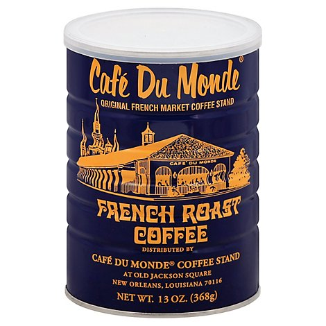 Cafe Du Monde Coffee French Roast - 13 Oz