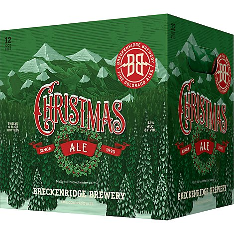 Breckenridge Ale Christmas In Bottles - 12-12 Fl. Oz.
