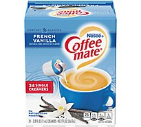 Coffeemate Coffee Creamer Liquid French Vanilla - 24-0.375 Fl. Oz.