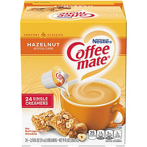 Coffee mate Coffee Creamer Liquid Hazelnut - 24-0.375 Fl. Oz.