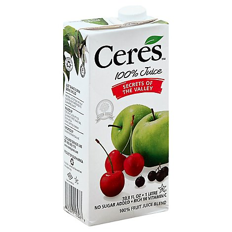 Ceres Juice Secret Of The Vlly - 33.8 Fl. Oz.