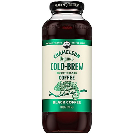 Chameleon Coffee Cold-Brew Black - 10 Fl. Oz.