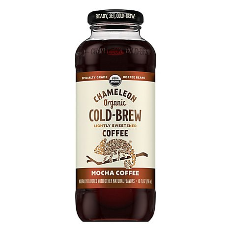 Chameleon Coffee Cold-Brew Mocha - 10 Fl. Oz.
