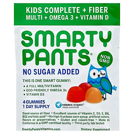 Smar6 Kid Multi Vtmn Fbr Omg3 &D - 15.0 Count
