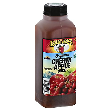 Big Bs Organic Cherry Apple Juice - 16 Oz