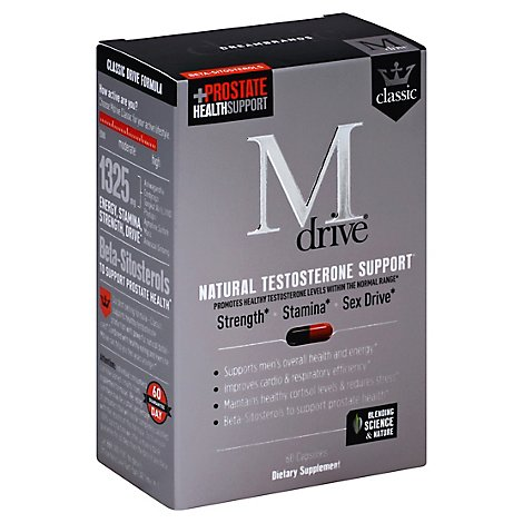 Dreambrands Supplement Testostrn Mdrive - 60 Count