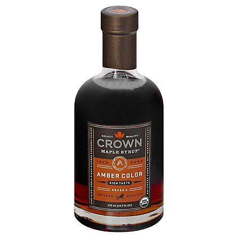 Crown Maple Maple Syrup Amber Color - 12.7 Fl. Oz.