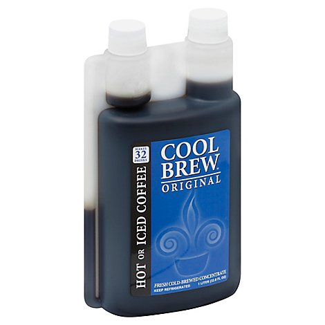 Coolbrew Original Cold Brew Coffee Concentrate - 1 Liter