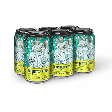 Crazy Mountain Livin Pale Ale In Cans - 6-12 Fl. Oz.