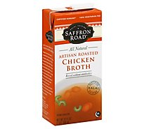Saffron Road Broth Chicken Artisan Roasted - 32 Fl. Oz.