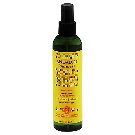 Andalou Naturals Hair Spray Prfct Hold Snf - 8.2 Oz