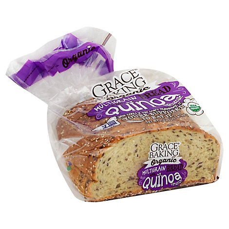 Grace Baking Organic Bread Multigrain witn Quinoa - Each