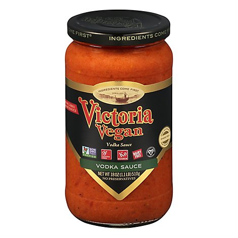 Victoria Sauce Tomato Vodka Jar - 18 Oz