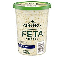 Athenos Cheese Feta Crumbled Traditional - 24 Oz