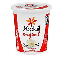 Yoplait Yogurt Low Fat Original Smooth Style Vanilla - 2 Lb
