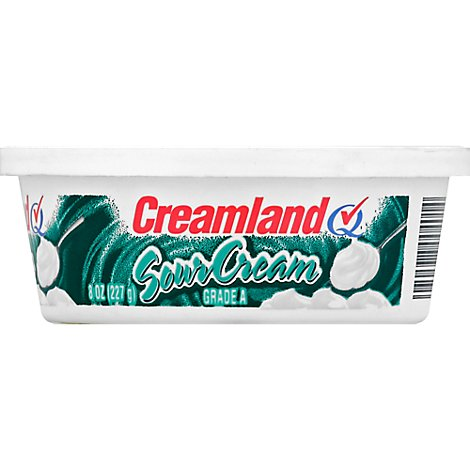 Creamland Sour Cream - 8 Oz