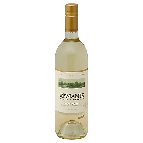 Mcmanis Pinot Grigio Wine - 750 Ml