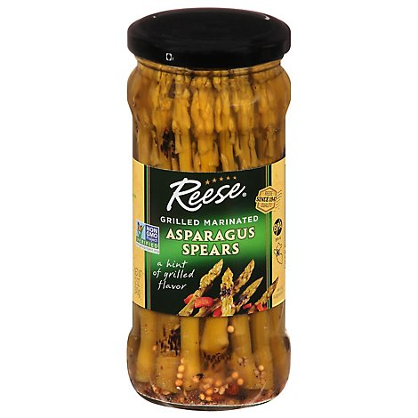 Reese Vegetables Grilled Marinated Spears Asparagus - 12 Oz