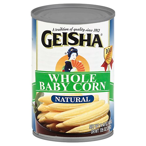 Geisha Corn Baby Whole - 14.46 Oz