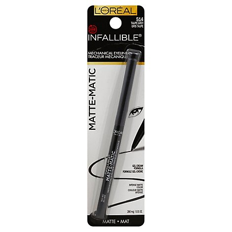 Lor Infallible Mattecharcoal - .01 Fl. Oz.