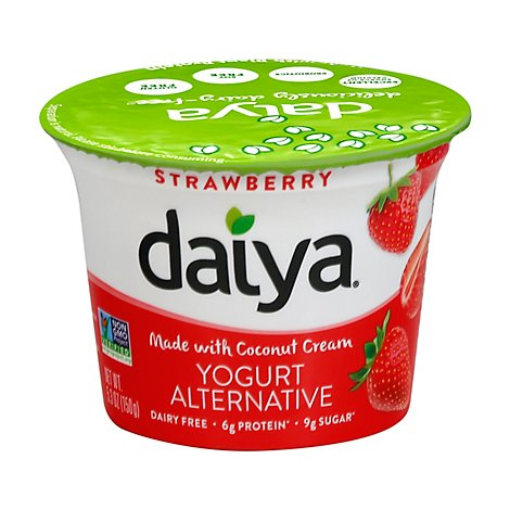Daiya Yogurt Alternative Greek Strawberry - 5.3 Oz