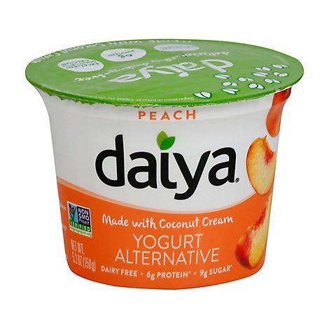 Daiya Yogurt Alternative Greek Peach - 5.3 Oz