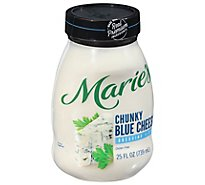 Maries Dressing Chunky Blue Cheese - 25 Fl. Oz.