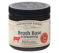 Orrington Farms Broth Bases & Seasoning Beef Flavored 56 Cups - 12 Oz