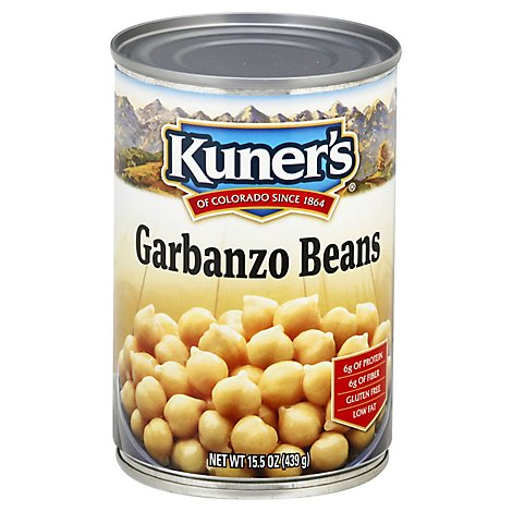 Kuners Beans Garbanzo - 15 Oz